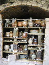 opening of the soda kiln